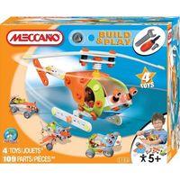 Конструктор Meccano Вертолет,4 модели,возраст+5(Франция)