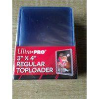 Упаковка Жестких протекторов (toploaders) 25 штук