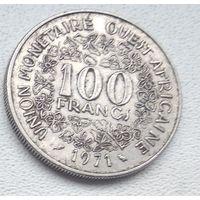 Западная Африка (BCEAO) 100 франков, 1971 6-7-5