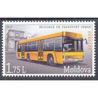 Молдова 2013 транспорт автобус