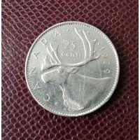 Канада. 25 центов 1979