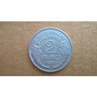 Франция 2 франка, 1959г. (D-20)