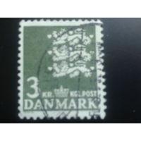 Дания 1969 герб