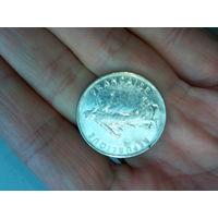 Монета 5 франков 1987 года