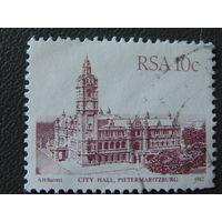 ЮАР 1982г. Архитектура.
