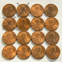 1 цент США 1991. Поштучно