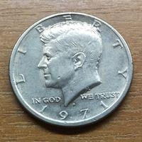 США 1/2 доллара 1971 D _РАСПРОДАЖА КОЛЛЕКЦИИ