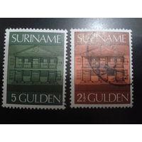Суринам 1975 стандарт, архитектура, большие номиналы