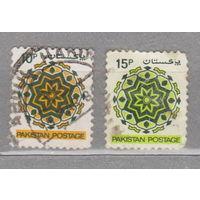 Пакистан  орнаменты 1980 год  лот 4