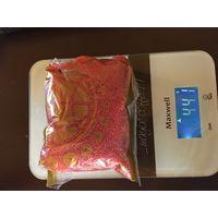 Бисер коралловый пакет 441г распакован