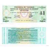 1 аустраль Аргентина 1991 Провинция Тукуман