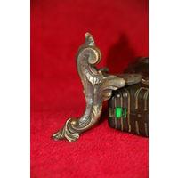 Ножка в старинном стиле (для часов, подставок и др.), латунь