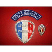 Шевроны полиции Франции 1960-80 годов
