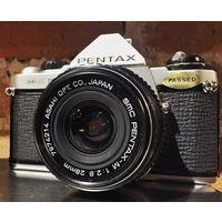Pentax ME Super, SMC Pentax-M 28mm/f2,8