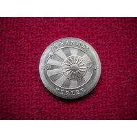 ГДР 5 марок 1971 г. Кеплер