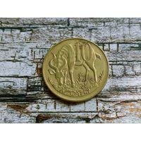 Эфиопия. 10 сантимов 1977 (не магнетик).