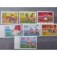 Гвинея-Биссау. 1984. Олимпиада.Лос-Анжелес-84
