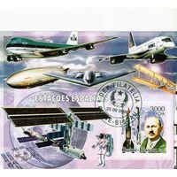 Гвинея-Биссау.Авиация и космос.2006