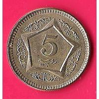 43-03 Пакистан, 5 рупий 2006 г.