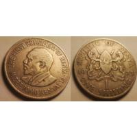 1 шилинг. 1973. Кения