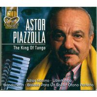 2CD Astor Piazzolla - The King Of Tango (2004)