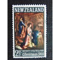 Новая Зеландия 1969 год. Рождество.