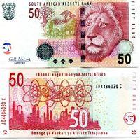 ЮАР 50 рэндов 2005 UNC