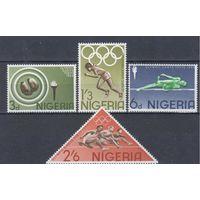 [1175] Нигерия 1964.Спорт.Олимпиада.