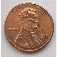 США. 1 цент 1993г.