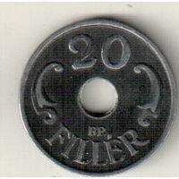 Венгрия 20 филлер 1941