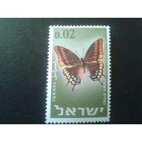 Израиль 1965 бабочка