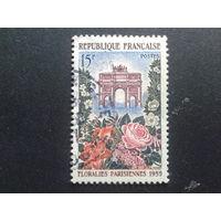 Франция 1959 выставка цветов