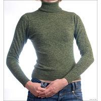 Теплый свитер-гольф р-р 42-44