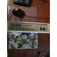 Полудревний модем ZyXel u336E на 14400