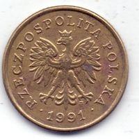 Польша, 5 грошей 1991 года