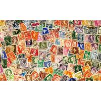 Зарубежные марки первой половины 20-века.