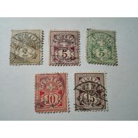 Швейцария 1882-1906