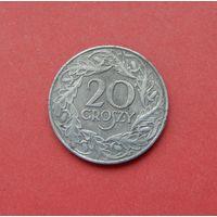 20 грошей 1923 (цинк) Польша. Немецкая оккупация