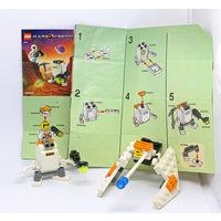 LEGO Марсианская миссия, с человечком и инструкцией.