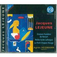 CD Jacques Lejeune - Oraison Funebre De Renart / Petite Suite Laforgue / Le Petit Chapon Rouge (1996) Classical, Contemporary, Experimental