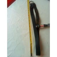 Ремень брючный кожанный ш 25 мм