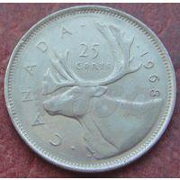 5176:  25 центов 1968 Канада