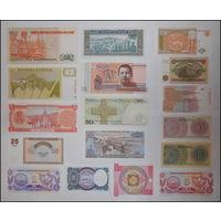 Банкноты из журнала Монеты и банкноты aUnc-Unc