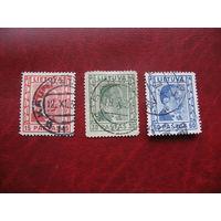 Марка стандартного выпуска (А. Сметона) 1936 год Литва