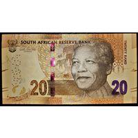 ЮАР 20 рэндов 2012 год UNC