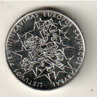Литва 1 лит 2004 425 лет Вильнюсскому университету