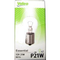 Комплект ламп Valeo 032101 P21W 2шт