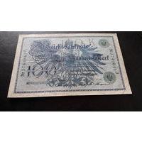 100 марок 1908 зеленый