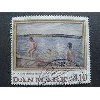 Дания 1988 живопись