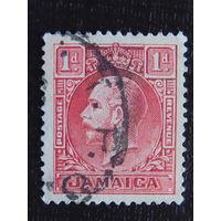Английская Ямайка 1929 г. король Георг V.